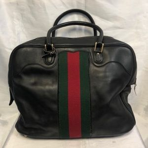 💯💥RARE💥Gucci Vintage Doctor Duffle Travel Bag